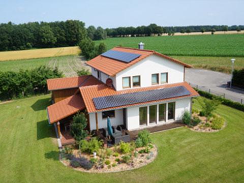 Privathaus Photovoltaik