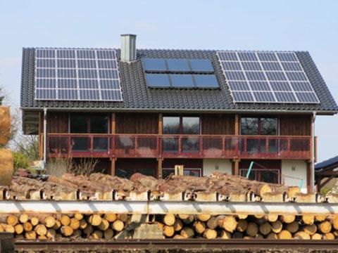 Photovoltaik Privathaus 3