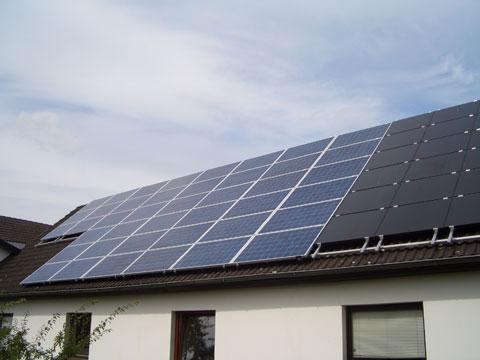 Photovoltaik Privathaus